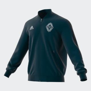 Vancouver Whitecaps FC Anthem Jacket Deep Sea / Matte Silver EI6192