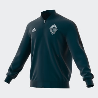 Veste Vancouver Whitecaps FC Anthem Deep Sea / Matte Silver EI6192