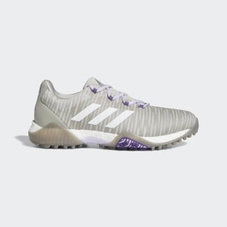 CodeChaos Golf Shoes Metal Grey / Crystal White / Purple Tint EE9340
