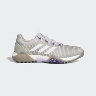 CodeChaos Golfschoenen Metal Grey / Crystal White / Purple Tint EE9340