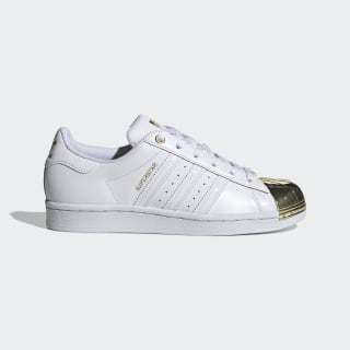 Superstar Metal Toe Shoes Cloud White / Cloud White / Gold Metallic FV3311