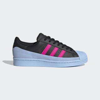 Superstar MG Schoenen Core Black / Glow Blue / Shock Pink FV3028