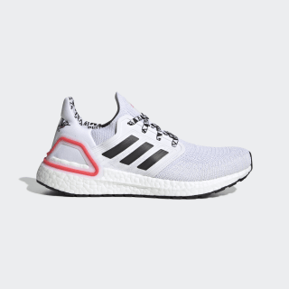 Ultraboost 20 Shoes Cloud White / Core Black / Shock Red FX9576