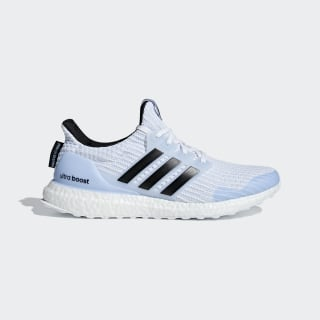 adidas Running x Game of Thrones Ultraboost White Walkers Shoes Ftwr White / Core Black / Glow Blue EE3708