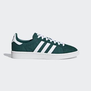 Zapatilla Campus Collegiate Green / Ftwr White / Crystal White DB3276