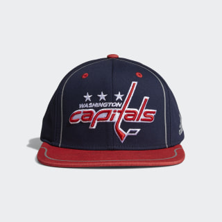 Capitals Flat Brim Hat Multi CX2519