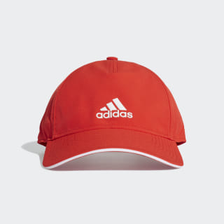 C40 Climalite Cap Active Red / White / White DT8538