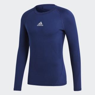 Alphaskin Sport Tee Dark Blue CW9489