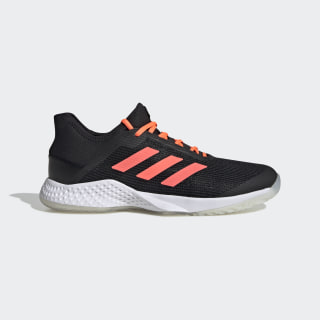 Adizero Club sko Core Black / Signal Coral / Cloud White EF2771