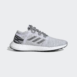 adidas x UNDEFEATED Pureboost GO Shoes Grey/Core Black/Core Black BC0474
