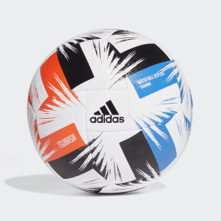 Tsubasa træningsbold White / Solar Red / Glory Blue / Black FR8370