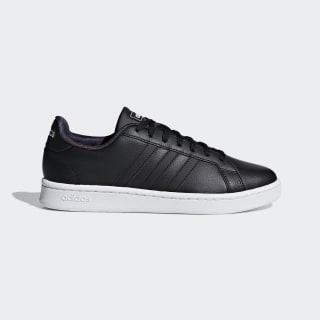 Grand Court Shoes Core Black / Core Black / Active Purple F37047
