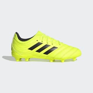 Scarpe da calcio Copa 19.3 Firm Ground Solar Yellow / Core Black / Solar Yellow F35466