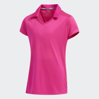 Solid Fashion Polo Shirt Shock Pink FI8680