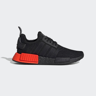 NMD_R1 Shoes Core Black / Core Black / Solar Red EE6676
