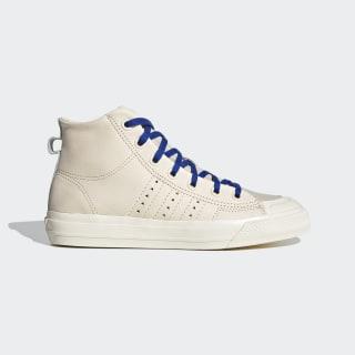 Pharrell Williams Nizza Hi RF Shoes Ecru Tint / Cream White / Clear Brown FX8010
