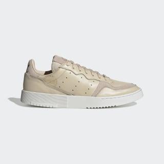 Sapatos Supercourt Linen / Crystal White / Gold Met. EG4584