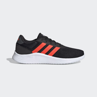 Lite Racer 2.0 Shoes Core Black / Solar Red / Grey Six EG9831