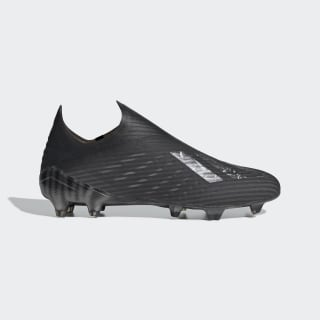 Botas de Futebol X 19+ – Piso firme Core Black / Core Black / Silver Metallic EG7139