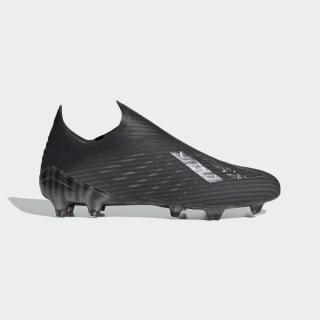 Футбольные бутсы X 19+ FG Core Black / Core Black / Silver Metallic EG7139