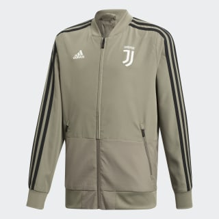 Juventus Turin Präsentationsjacke Brown / Black CW8735