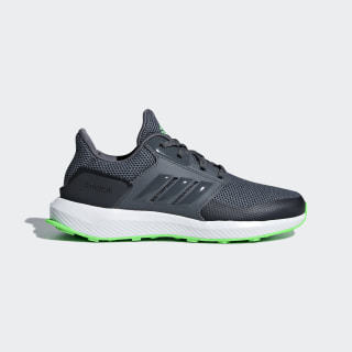 RapidaRun Shoes Grey Five / Shock Lime / Carbon AH2594