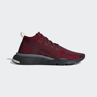 EQT Support Mid ADV Ayakkabı Collegiate Burgundy / Carbon / Clear Brown DB3562