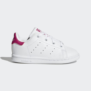 Tênis Stan Smith FTWR WHITE/FTWR WHITE/BOLD PINK BB2999