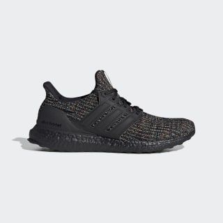 Ultraboost Shoes Core Black / Core Black / Glow Green G54001