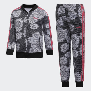 Printed Tricot Set Black CM0367