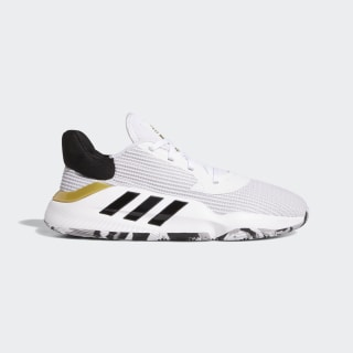 Scarpe Pro Bounce 2019 Low Cloud White / Core Black / Gold Met. EF0472