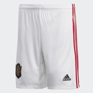 Manchester United Home Shorts White DX8947