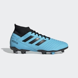 Zapatos de Fútbol Predator 19.3 Terreno Firme Bright Cyan / Core Black / Solar Yellow F35593