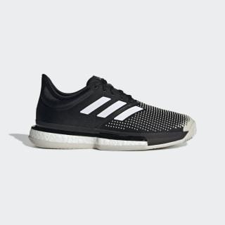 SoleCourt Clay Shoes Core Black / Cloud White / Raw White G26293