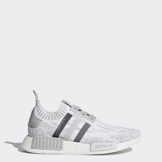 NMD_R1 Primeknit Shoes Grey Two /Grey Four /Grey Five BY9865