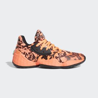 Harden Vol. 4 Shoes Signal Coral / Core Black / Signal Coral FV4151