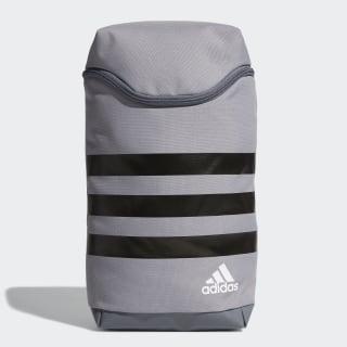 3-Stripes Medium Shoe Bag Grey / Black / White BC2244
