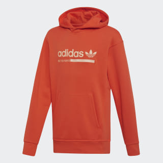 Kaval Graphic Hoodie Semi Solar Red DZ1109