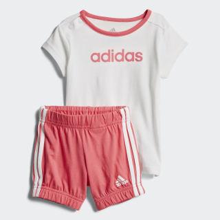 Conjunto Summer Easy White / Chalk Pink CF7413