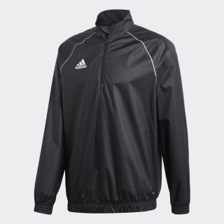 Core 18 Windbreaker Black / White CE9056