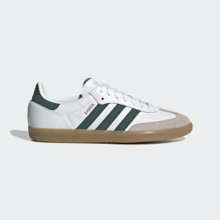 Zapatilla Samba OG Cloud White / Collegiate Green / Vapour Green EE5451