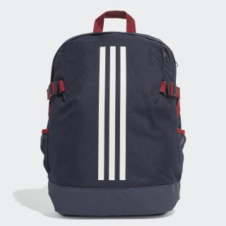 Sac à dos 3-Stripes Power moyen format Legend Ink / Legend Ink / White DZ9438