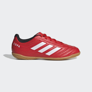 Copa 20.4 Indoor Shoes Active Red / Cloud White / Core Black EF1928