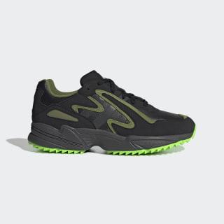 Yung-96 Chasm Trail Shoes Core Black / Grey Six / Solar Green EF8973