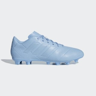 Chuteira Nemeziz Messi 18.4 Campo ASH BLUE S18/ASH BLUE S18/GOLD MET. DB2123