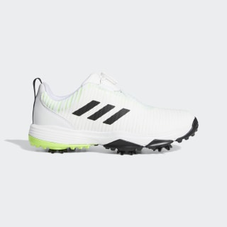 CodeChaos Boa Golf Shoes Cloud White / Core Black / Signal Green EF1219