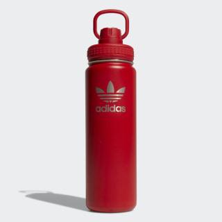 24 oz. Stainless Steel Water Bottle Solar Red CJ9285