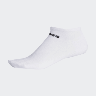 Meia Basic No-Show White / Black DN4435