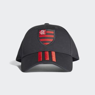 Boné 3-Stripes CR Flamengo Carbon / Hi-Res Red CY5542
