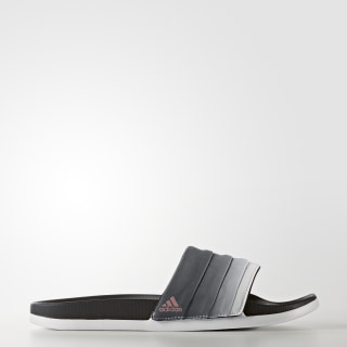 adilette Cloudfoam Ultra Armad Slides Core Black / Tech Rust Metallic / Cloud White BB3732